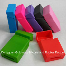 Factory Custom Promotional Silicone Cigarette Case