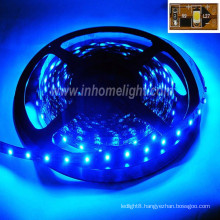 High quality CE&ROHS certification waterproof 3528 SMD blue Led ribbon light with 3 years warranty
