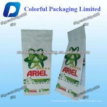 Sacos de empacotamento do pó de lavagem / sacos de plástico detergentes do pó / saco de plástico de empacotamento líquido
