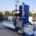 Línea de producción completa de los muebles ATC del ranurador del CNC con el centro de corte del taladro