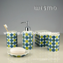 Decal Porcelain Bath Coordinates (WBC0626B)