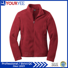 Wholesale Womens Soft Warm Lightweight Full-Zip Fleece Jacket (YYLR113)