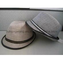 Hot Sale Gentleman Fedora Hat, casquette de baseball de sport