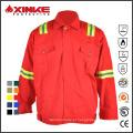 Camisa de retardante de fogo de algodão para trabalhadores