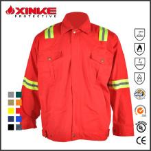 Хлопка огнезащитных рубашку для работников