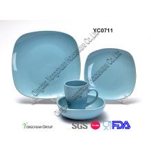 Керамический синий набор ужин (16PCS)