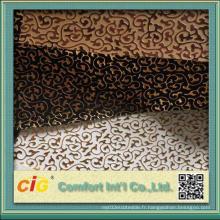 Chinoise Bonne qualité en relief Design PVC Leatheroid Vinyl