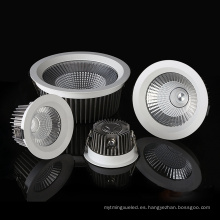 Downlight LED COB impermeable cuadrado redondo IP65