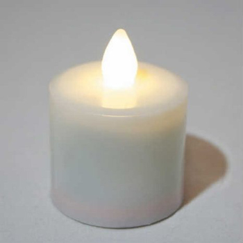 Elegant inductively rechargeable LED tealight candle