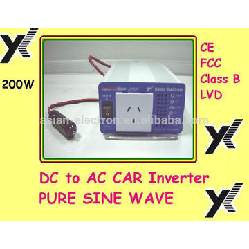 DC a la salida 115VAC del inversor de la CA con el inversor de los EEUU 200W de los EEUU