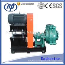 Shijiazhuang Chloroprene Rubber Lined Mining Centrifugal Pump (100ZJR)