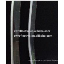 Tuberías reflectantes transparentes de pvc de 1 cm para coser en tiendas de campaña y cosméticos