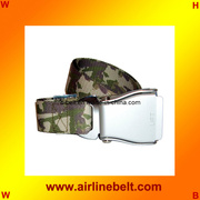 Top classic seat belt buckle Military belt