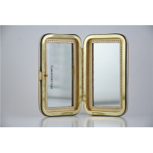 Small pocket mirror  double sided glass