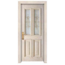 European Simple Classic Design mit Glasfenster Solid Wooden Door