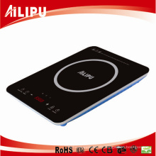 2016 Último Modelo con Turbo Fan Big Plate Touch Panel Inducción Súper Delgada Cocina / Induction Cooktop