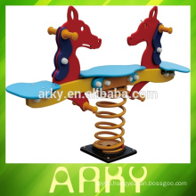 New Kid's Outdoor Double Animal Spring Rides