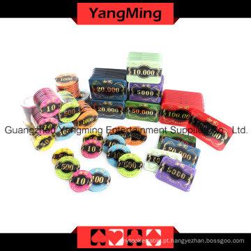 High-Grade Crow Chip Poker Set 760PCS (YM-TZCP0017)