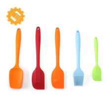 Multifunctional Silicone Bakeware Set Kitchen Spatula and Brush