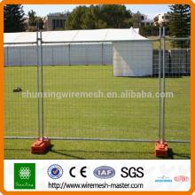 Clôture temporaire de haute qualité, panneaux de clôture temporaires vente chaude, panneaux de clôture temporaires
