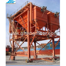 100cbm Rubber-Tyred Dust-Trap Hopper for Port Unloading (GHE-RTDH-310)