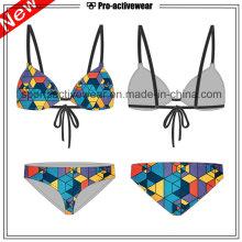 OEM 2016 alta qualidade sexy quente vendendo bikini Costom colorido