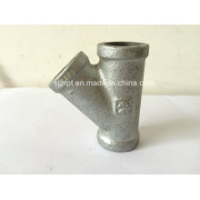 Reducing Galvanized Tee Malleable Iron Pipe Fittings