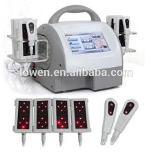 2015 venta caliente de 6 piezas de paneles Lipo Laser Body que adelgaza máquina diodo láser que adelgaza la máquina