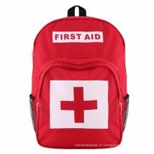 Trousse de premiers soins pour sac à dos en polyester pour sac médical