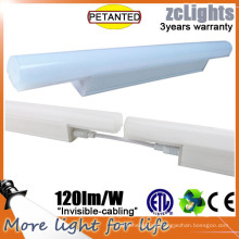 T5 Morden Indoor LED Lighting Plastic Cover Under Cabinet Light