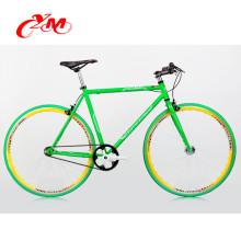 оптовая продажа горячая распродажа фиксированных передач велосипед/высокое качество стали фиксированных передач велосипед рама /в yimei красочные 700c исправило велосипед шестерни для продажи