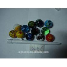 Marbre en verre purement artisanal, OEM, usine en Chine
