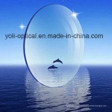 72mm Minus Spherical 1.56 Résine de revêtement vert lentille optique avec EMI