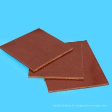 3025 feuille stratifiée isolante de coton phénolique