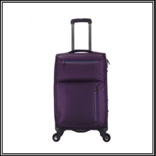 Unisex travel waterproof nylon airport luggage trolley bag