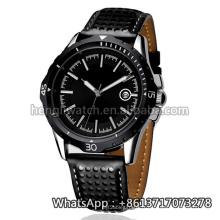 Nouvelle montre de quartz de style de 2016, montre en acier inoxydable de mode Hl-Bg-105