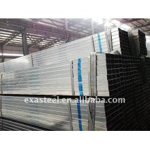 Tubo de acero cuadrado / rectangular galvanizado