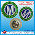 Metal Lions Club Round Coin Badge Badges