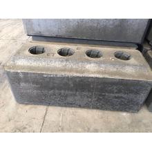 Ánodo de carbono utilizado en la celda de electrólisis de aluminio