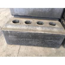 Anode de carbone utilisée dans la cellule d'électrolyse en aluminium