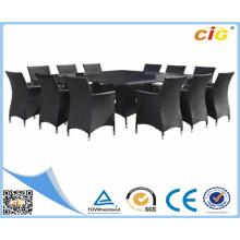Хорошее качество Polular 13PCS Обеденный Kd Установить Продажа Уличная мебель