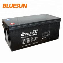 Bluesun batterie longue conservation VRLA 12V 200Ah pour stockage de l'énergie solaire à haute efficacité et longue durée
