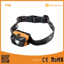 Waterproof 1W High Power LED Headlamp (POPPAS- T10)