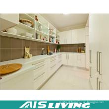 Mobília durável do armário de cozinha da L-Forma do projeto simples (AIS-K248)