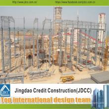 Простота установки и транспортировки стальных конструкций