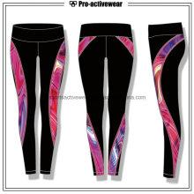 OEM Polyester Spandex Sublimation Femmes en gros Yoga Fitness Leggings