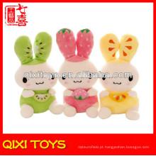 Brinquedo animal, brinquedo de coelho coelhinho de pelúcia verde