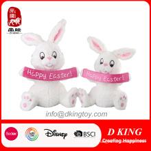 2017 Новый Дизайн Белый Пасхальный Кролик Плюшевые Игрушки Подарки