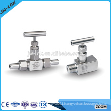 Swagelok type needle valve for fluid system