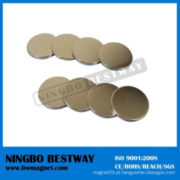 Ímã do disco do neodímio do revestimento de zinco para a venda